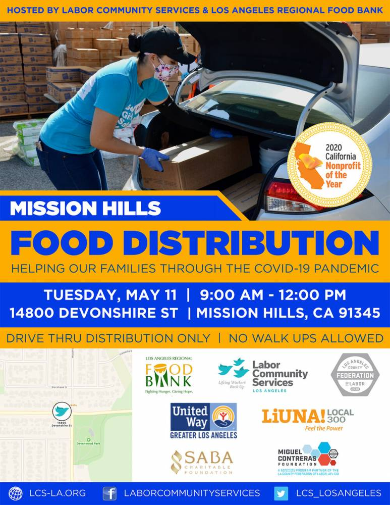 Mission Hills Food Distribution