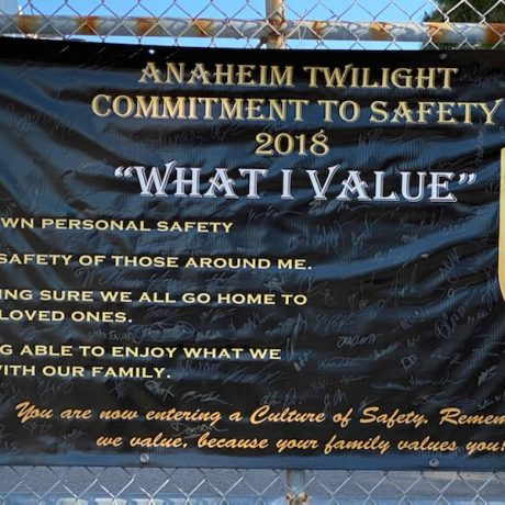 UPS - Anaheim Twilight Commitment to Safety 2018