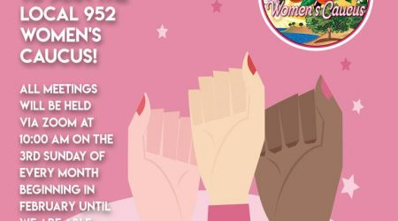 Join the Local 952 Women's Caucus!