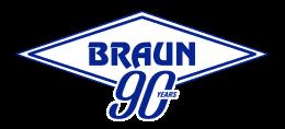 Braun 90th - logo